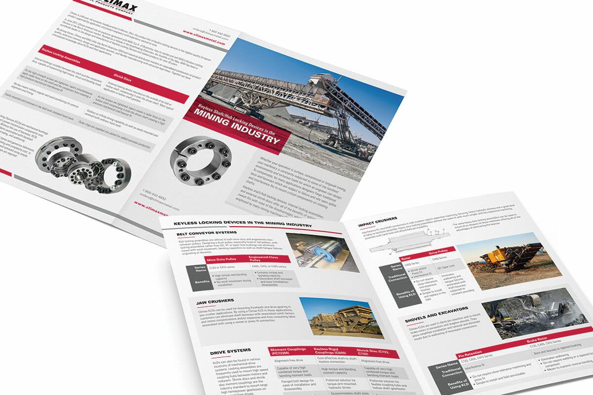 printed marketing material