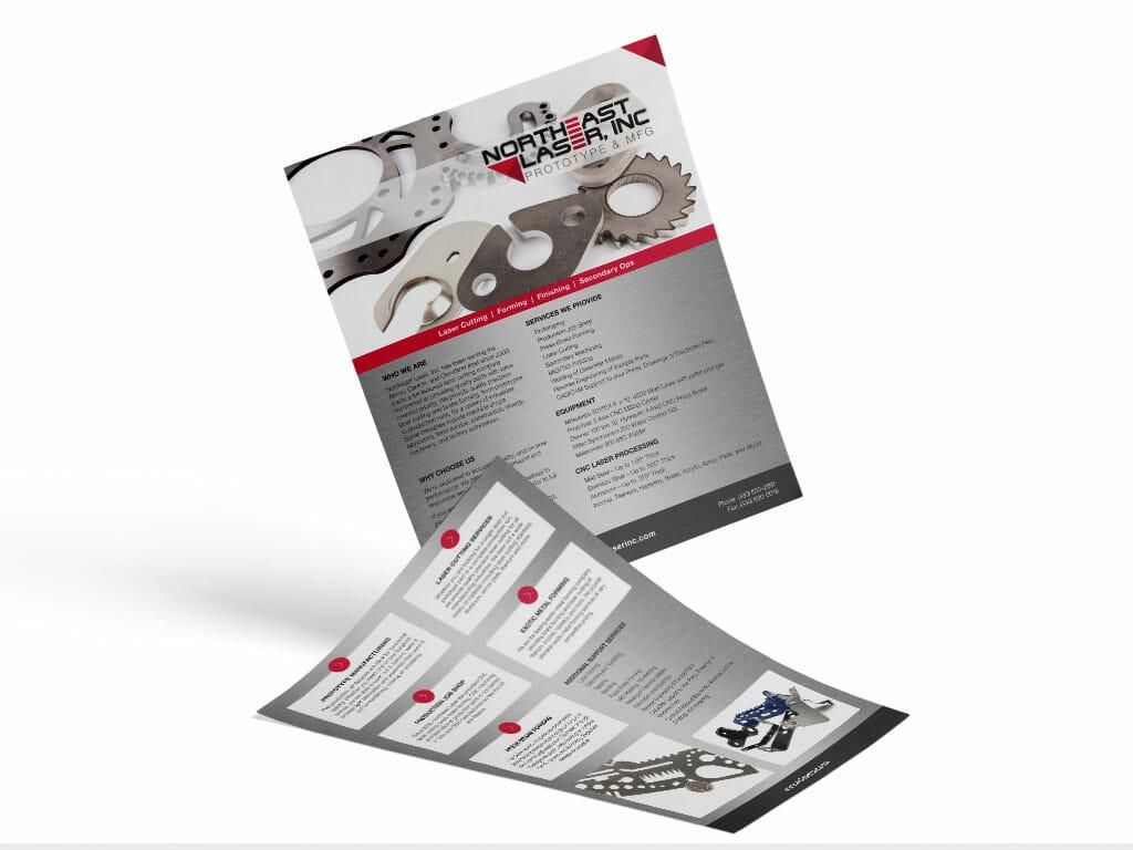 sell-sheet-design-northeast-laser