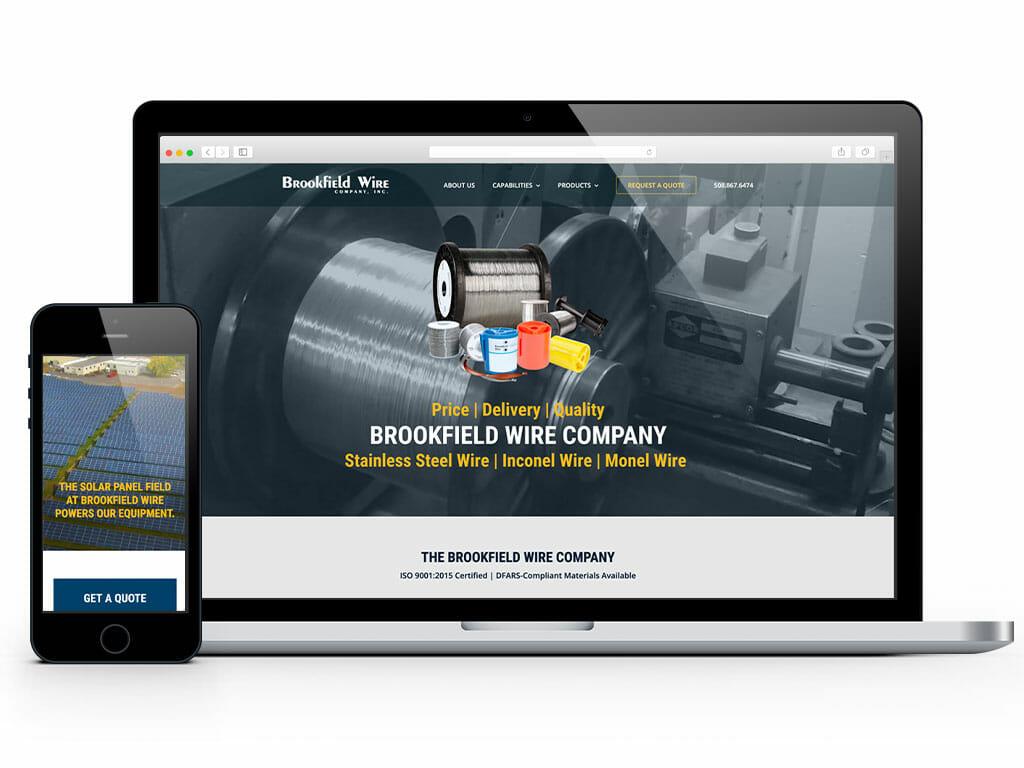web-design-brookfield-wire