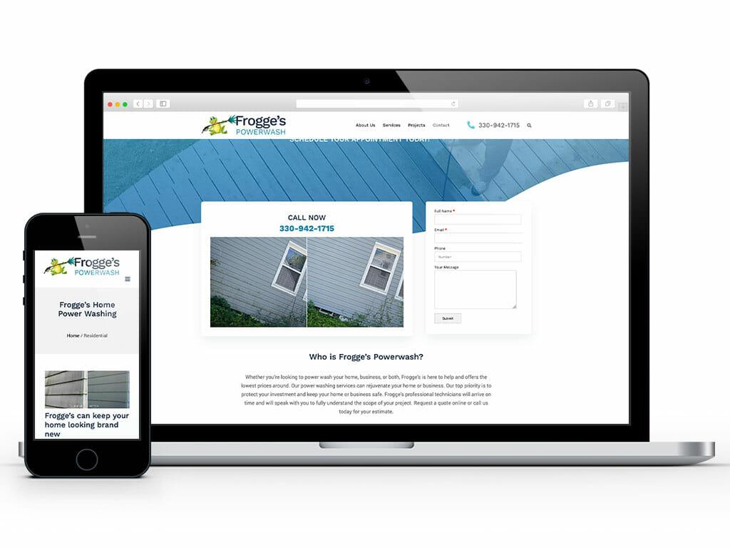 web-design-frogges-powerwash