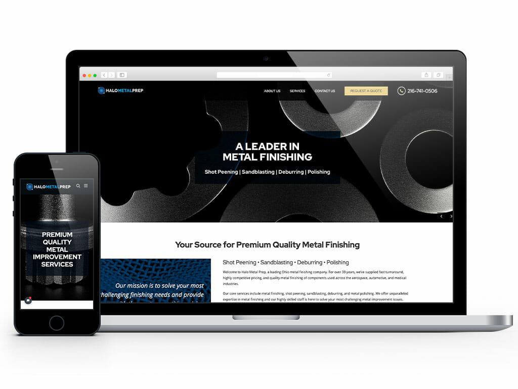 web-design-halo-metal