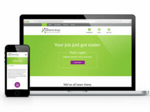 website design services work sample