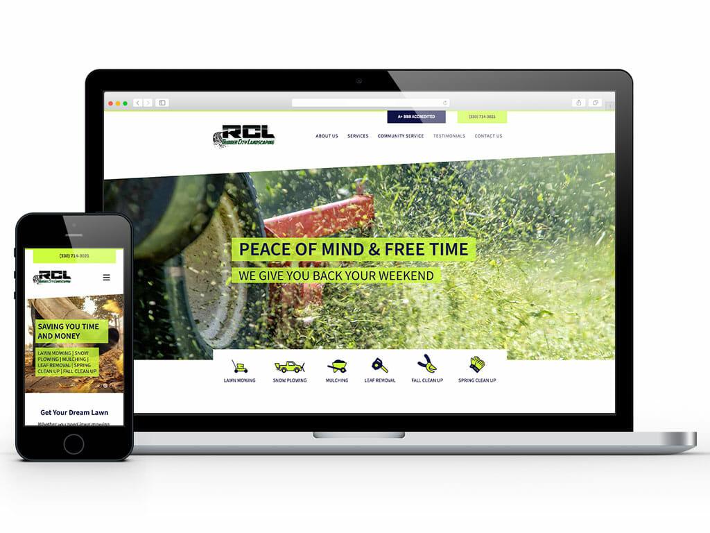 web-design-rubber-city-landscaping