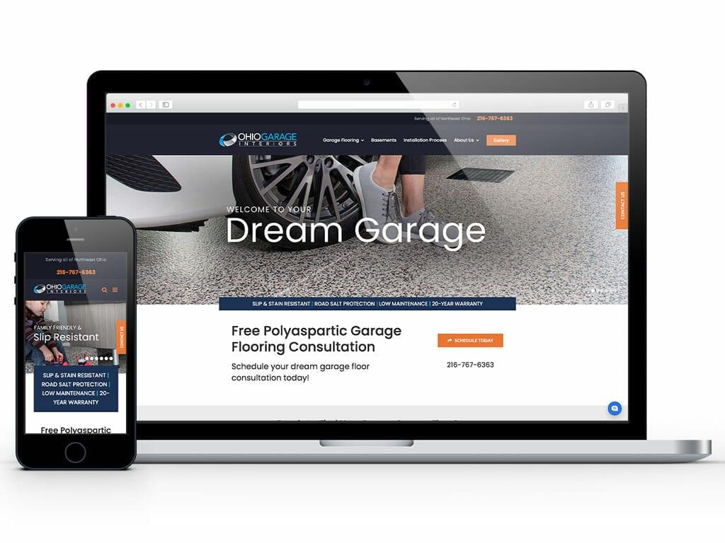 web-design-ohio-garage-interiors