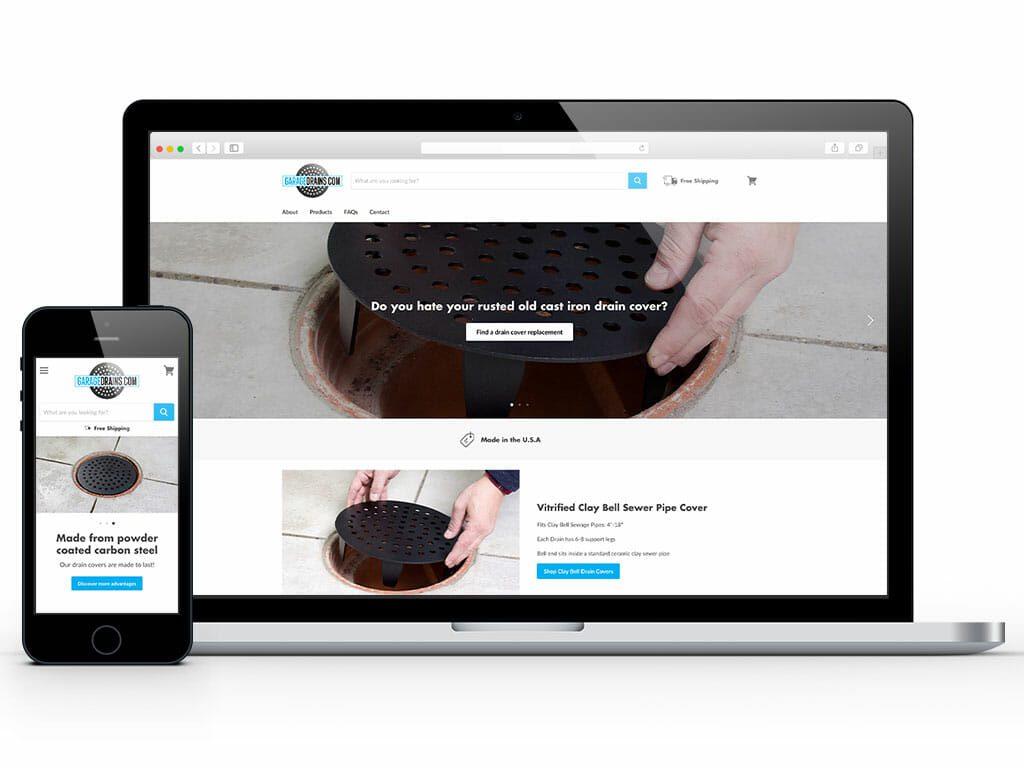 web-design-garage-drains